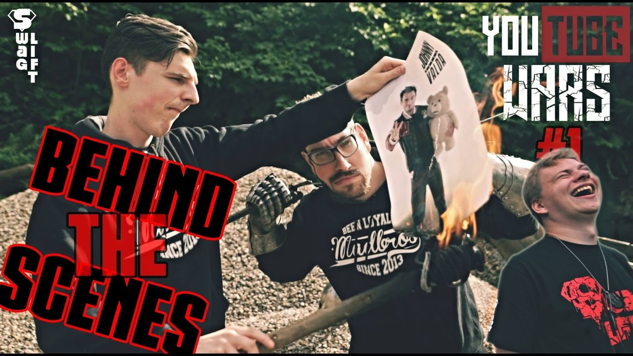 Madbros VS Johnny Valda - Youtube Wars #1 - Behind the Scenes