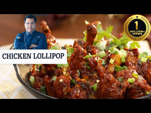 Super Easy and Crispy Chicken Lollipop | चिकन लोलीपोप | Chef Ajay Chopra | Indo-Chinese Recipe