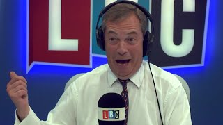The Nigel Farage Show: Is free movement/Irish border the right solution? Live LBC - 16th August 2017