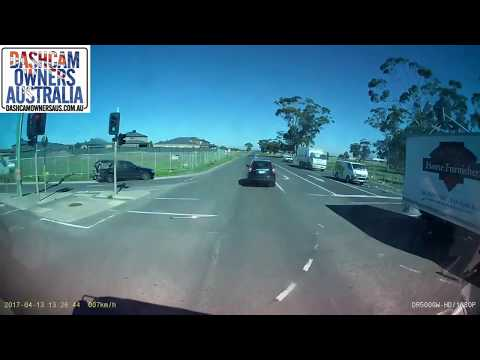 Station Wagon T Boned by Bus - Victoria