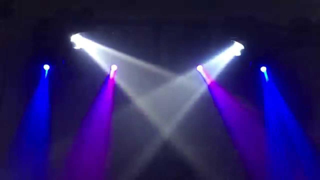 Dmx Dj Light Show Setup You