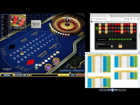 Roulette - Street Counter Software - Playtech Test