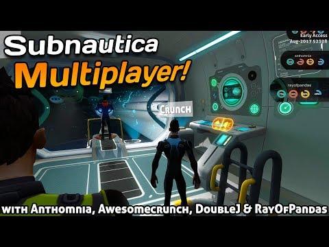 Cyclops BATTLE! | Subnautica MULTIPLAYER