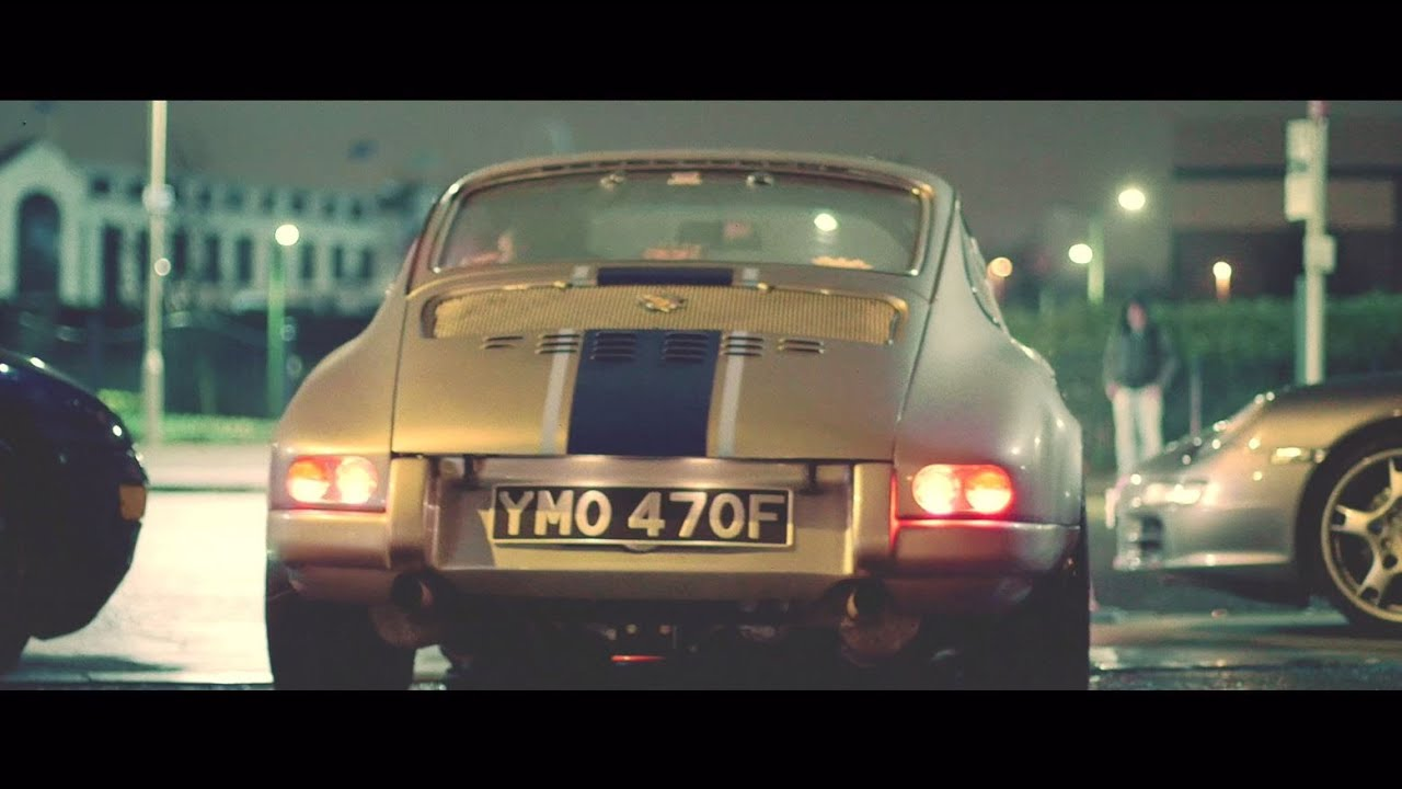 画像: Magnus Walker at London's legendary Ace Café youtu.be