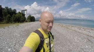 Путешествие в Абхазию. Пицунда. Дельфины в море. Что посмотреть в Абхазии(, 2016-06-21T08:00:00.000Z)