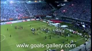 Neymar fights Santos and Penarol players in final Copa Libertadores