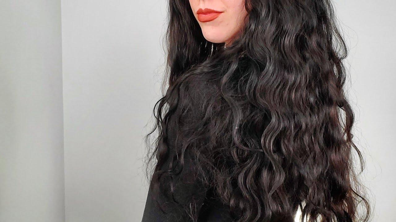 Beachy Mermaid Hair Tutorial   Pretty Queen Wave Wand From Amazon