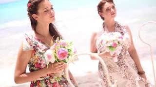 Свадебная церемония на острове Саона, Доминикана