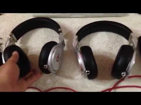 Fake Vs Real Beats By Dr Dre Pro Youtube
