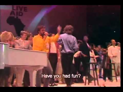 Band Aid - Do they know its christmas- Live aid 1985 london.