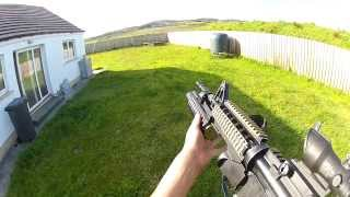 A few shots with the SHS 72 round grenade and my new DBoys M203. Bo...