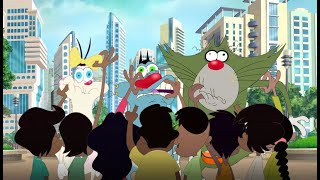 हिंदी Oggy and the Cockroaches - From Mumbay with love (S04E74) #GaneshChaturthi - Hindi Cartoons