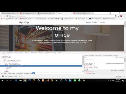 คอร์สเรียน เขียนเว็บด้วย HTML+CSS - ตอนที่ 3 ทำเว็บให้สวยงามด้วย CSS (จบ)