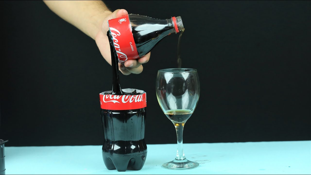 awesome coca cola trick youtube. Black Bedroom Furniture Sets. Home Design Ideas