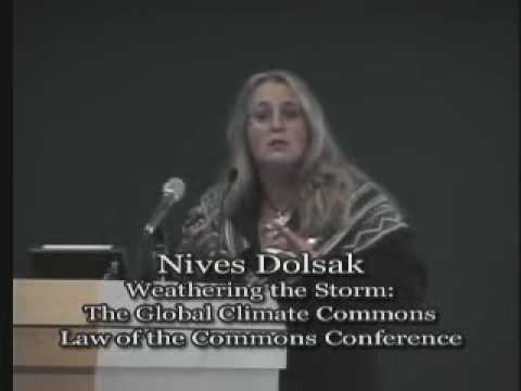 Talk - Nives Dolsak - Weathering the Storm: The Global Climate Commons