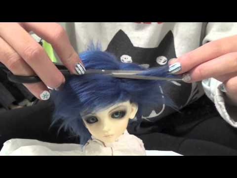 How to Style Faux Fur Wig for BJD