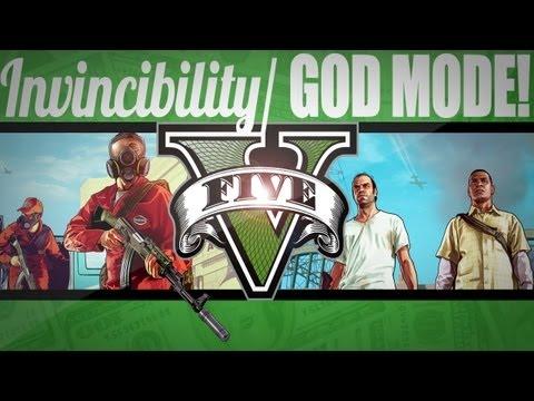 GTA V: Invincibility/God Mode/Infinite Health CHEAT CODE!