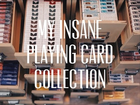 My Insane Card Collection! (over 2000 Decks)