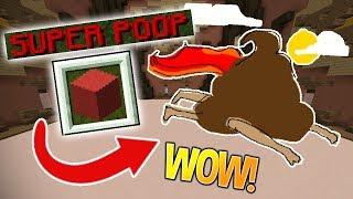 ONLY VOTE SUPER POOP CHALLENGE! (Minecraft Build Battle)