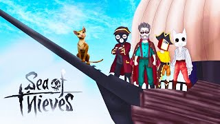 ТЕПЕРЬ НА НАШЕМ КОРАБЛЕ НОВЫЙ КАПИТАН-МИЛАШКА! У НАС ПОЯВИЛСЯ КОТ В SEA OF THIEVES