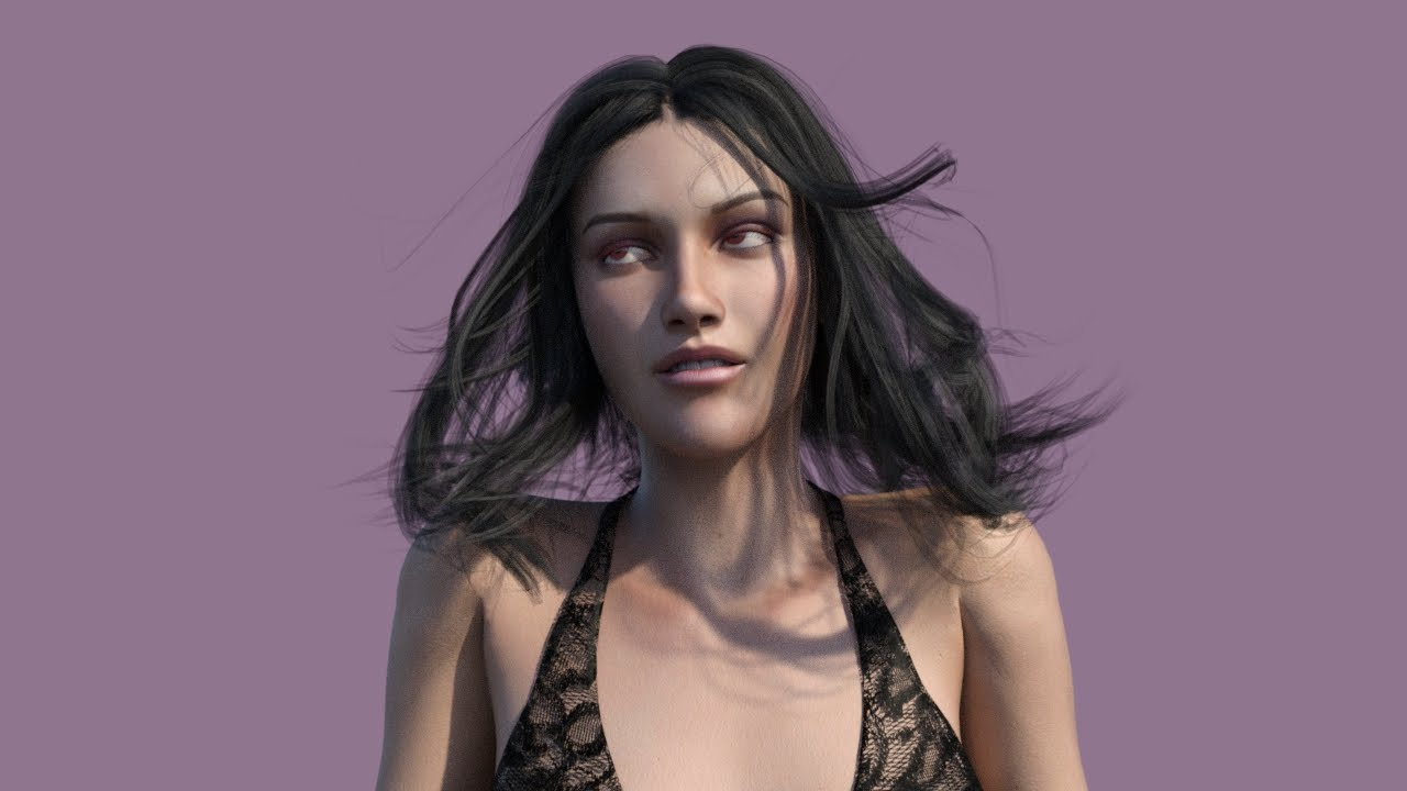 Bardot Hair For Genesis 3 Female S