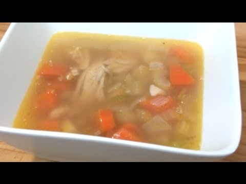 how to make chicken soup youtube