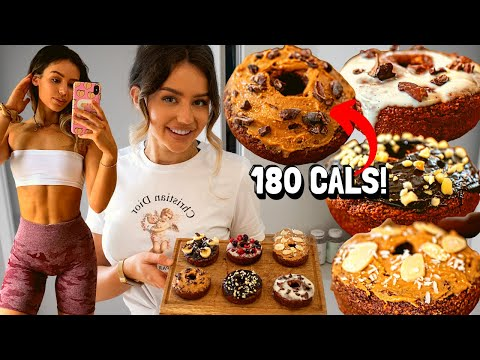 Healthy and Easy DONUTS! low cal, high protein *weight loss*