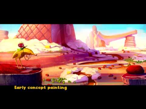 Cloudy With A Chance Of Meatballs 2 - Production Design