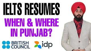 Ielts Exams In Punjab Resumes   Ielts In Punjab In July 2020   Idp & BC Pen and Paper Based Exam