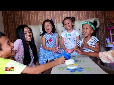 Shark Dentist Challenge Rame-rame Lucu Banget 💙 Menyanyikan Baby Shark Seru