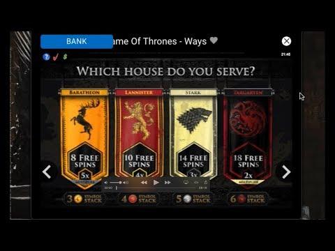 Game of Thrones Slot Big Win Bonuses!