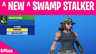 Fortnite - France NOUVEAU - SWAMP STALKER Skin in Item Shop Today Magasin d'articles 13 septembre 2019