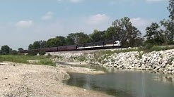 Norfolk Southern office car special at New Miami, Ohio