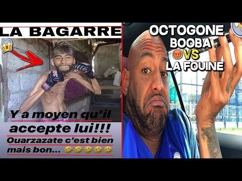 BOOBA PROVOQUE LA FOUINE EN COMBAT A LA PLACE DE KAARIS EN OCTOGONE | JE REAGIS (Actu,Contrat..)