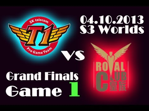 RYL vs SKT T1 | Royal Club vs SK Telecom T1 Game 1 | Finals of Season 3 World Championship | S3 VOD