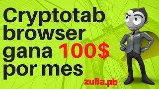 Cryptotab browser gana 100$ mensuales |PRUEBA DE PAGO|