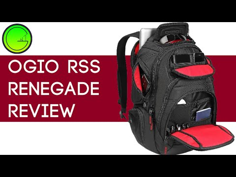 Ogio Renegade RSS backpack review (Quality, Close-ups)