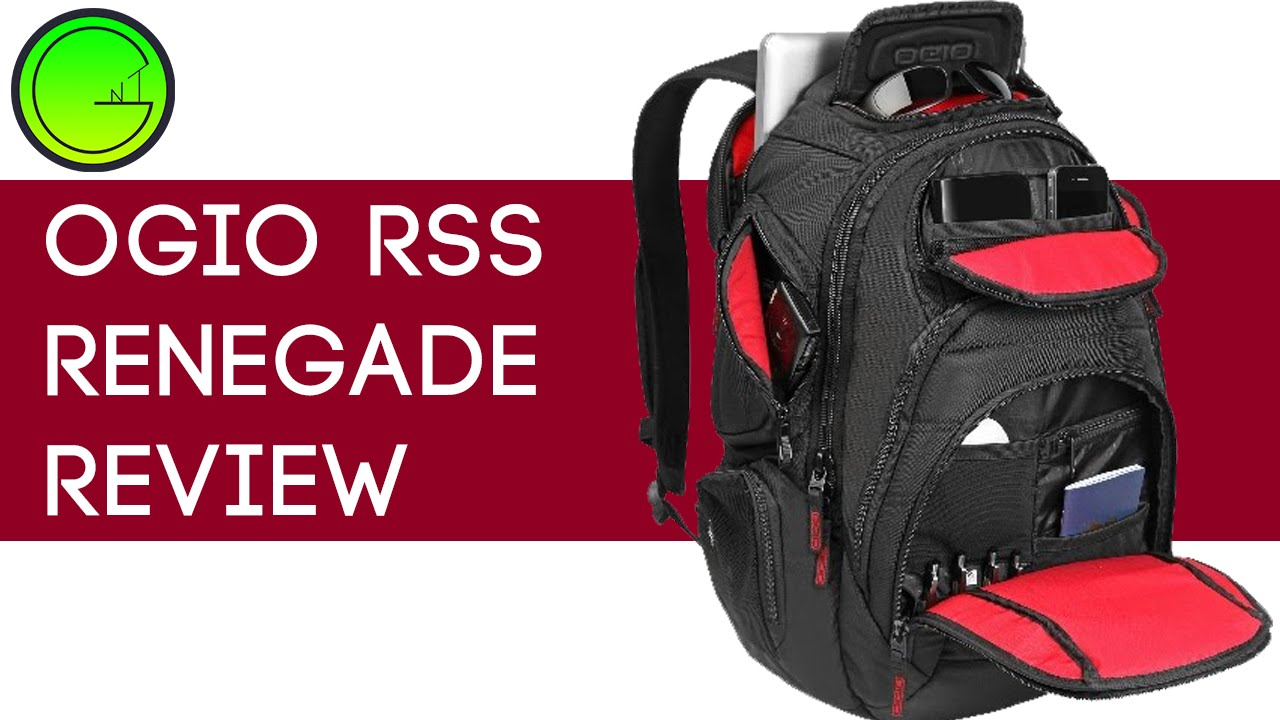 Ogio Renegade RSS backpack review (Quality, Close-ups) - YouTube