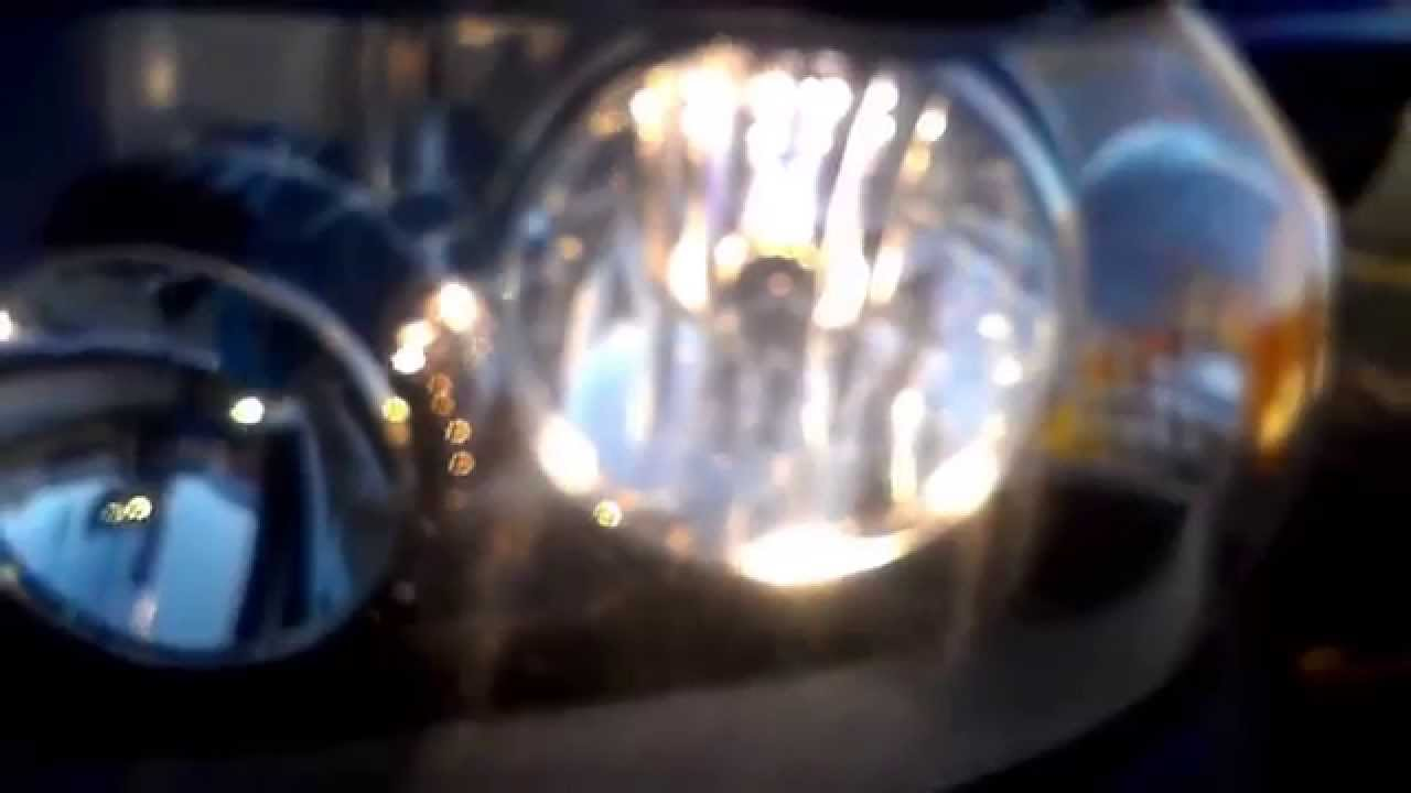 2006 Ford Escape Daytime Running Lights Demo  YouTube