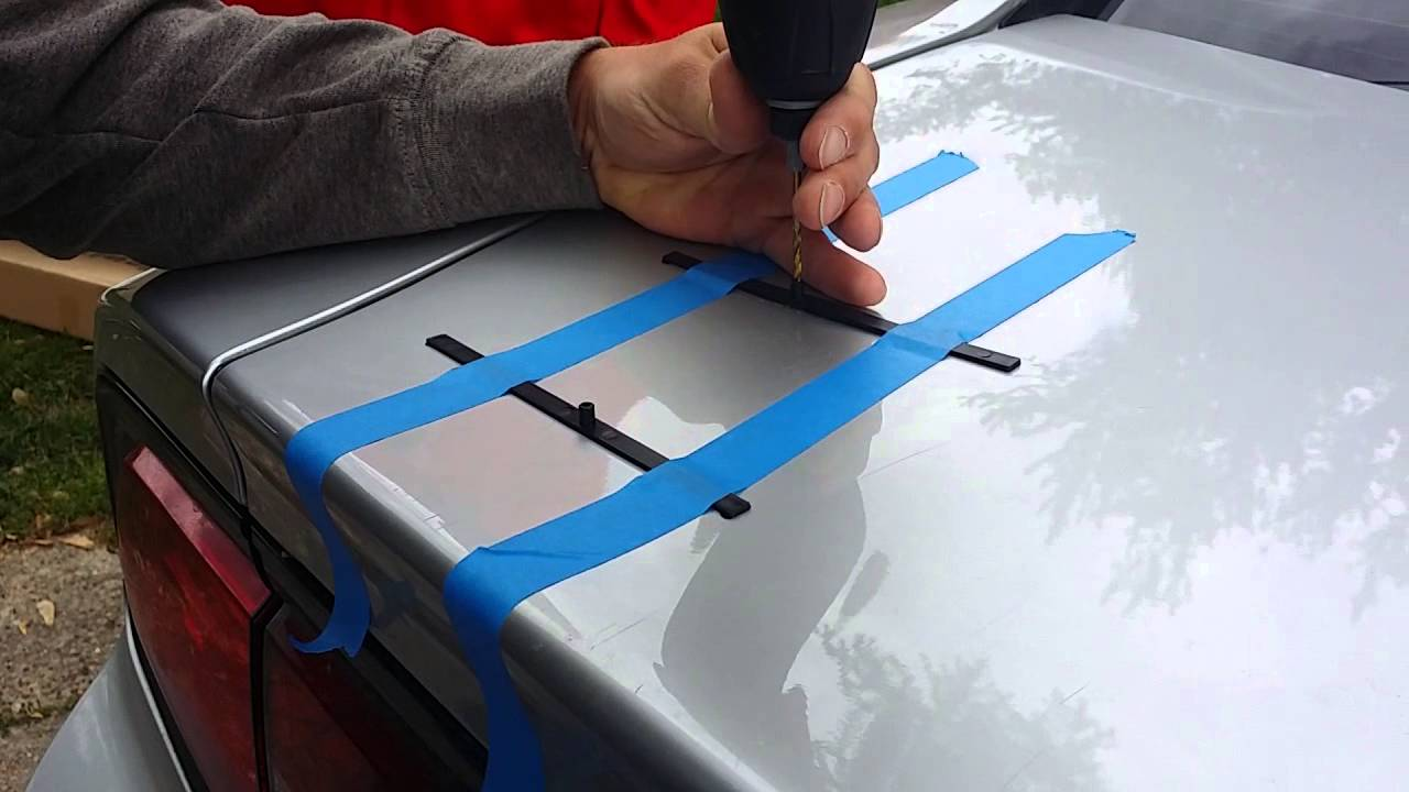 2011 2014 Dodge Charger Spoiler Installation Youtube