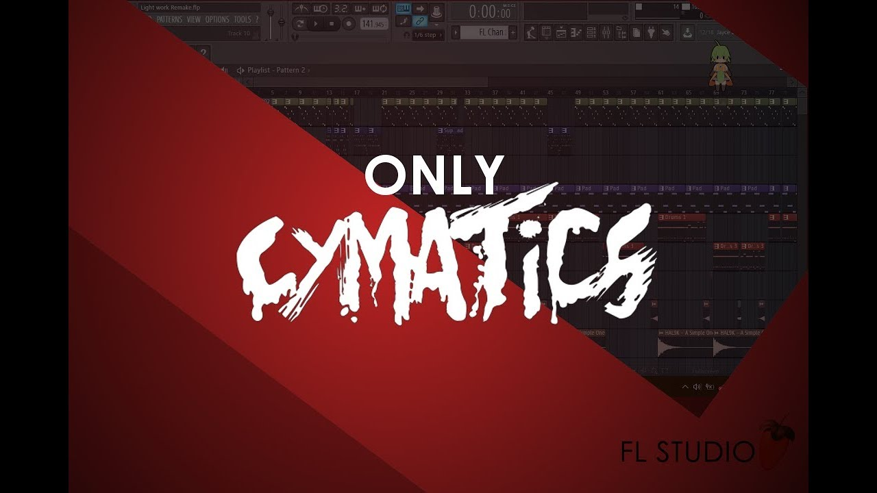 Making a TRACK with ONLY Cymatics FREE Sample Packs