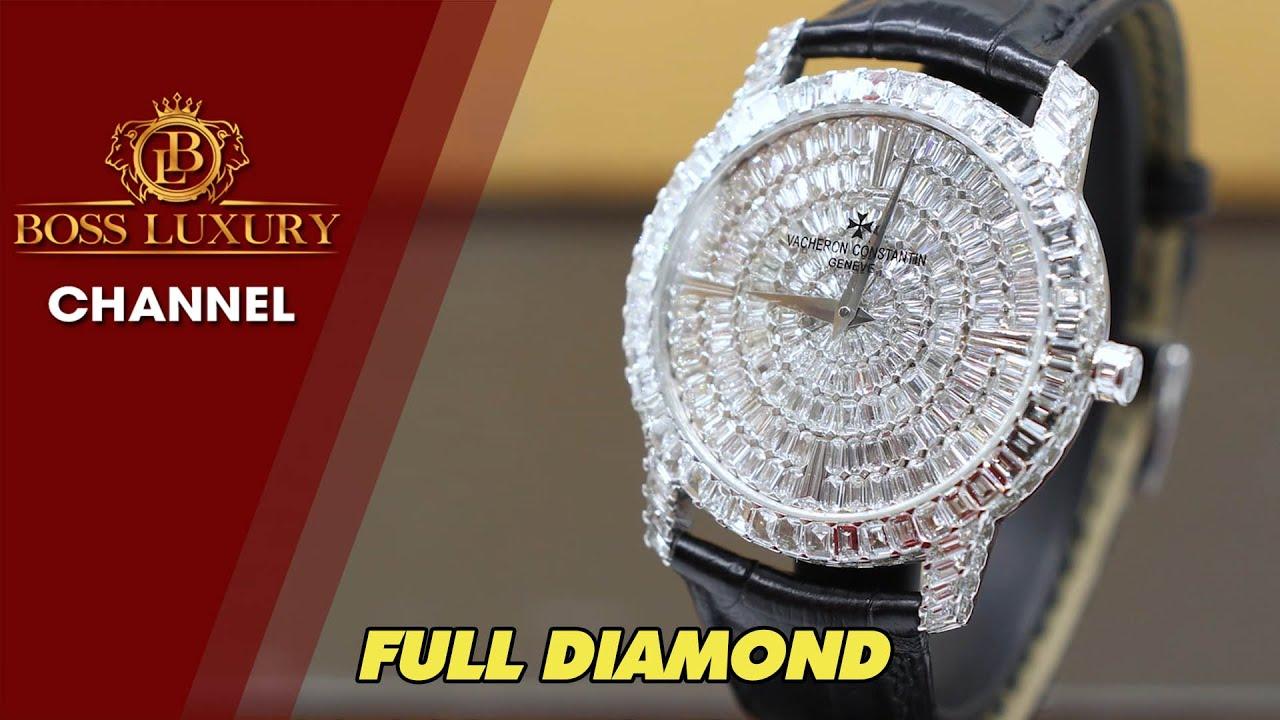 Review đồng hồ Vacheron Constantin Traditionelle High Jewellery 40mm   tuyệt phẩm kim cương ống