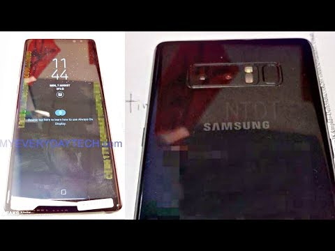 Samsung Galaxy Note 8 LIVE!!!
