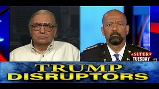 Sheriff Clarke Responds to Trump Protester