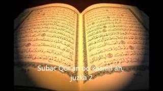 Subac Quraan oo kaamil ah, juzkii 2aad.