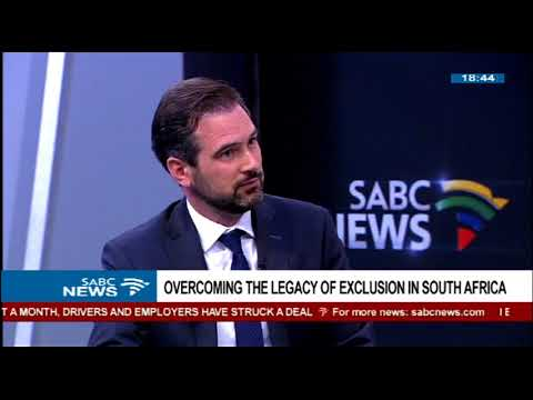 Overcoming the legacy of exclusion in SA: Marek Hanusch