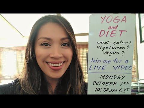 LIVE: Yoga & Diet - Should Yogis be Vegetarians?