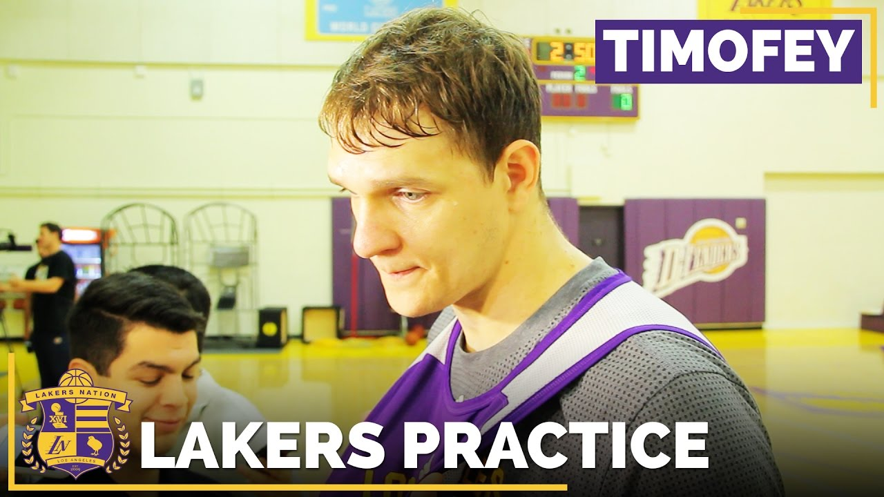 fe893878132d Timofey Mozgov Impressed With Die-Hard Lakers Fans
