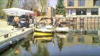 Shit happens - Malibu 247 sunk by open drain plug
