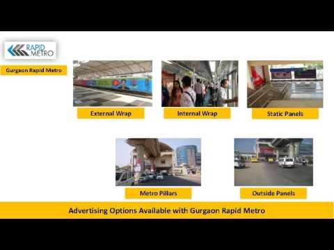 Metro Advertising in India | Metro Train Branding